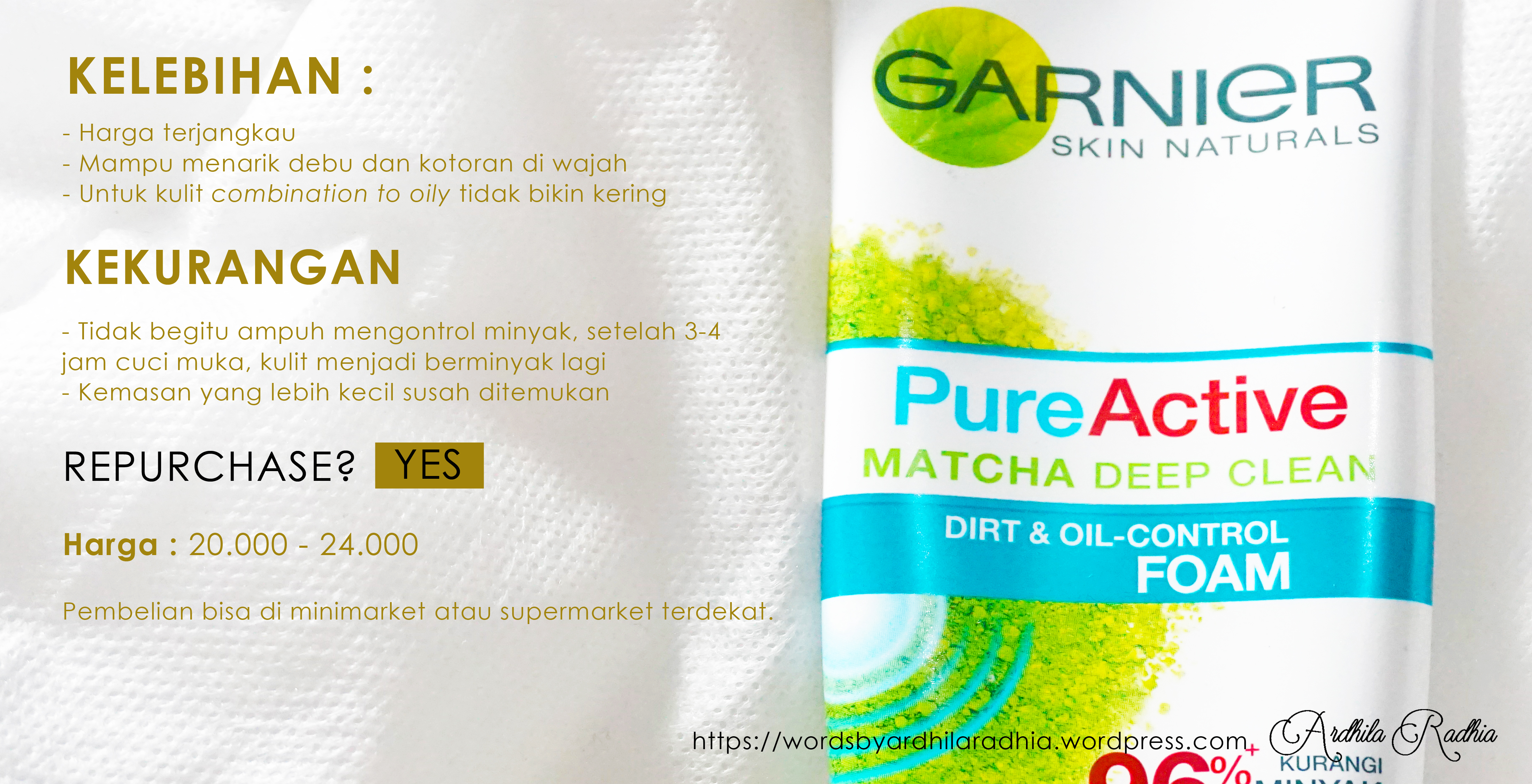 Top Products Of Garnier Pure Active Matcha Deep Clean Foam 50ml Micellar Cleasing Water Review With Words You Can Feel